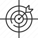 target, aim, goal