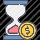 hourglass, time, money, business, finance