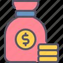 moneybag, money, budget, finance, business