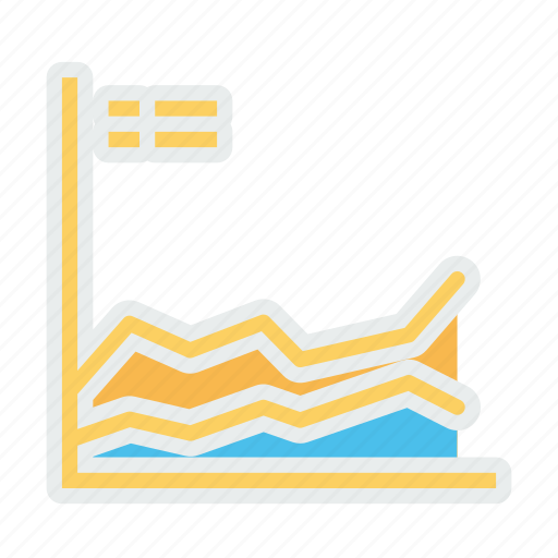 analysis, business, growth, periodic icon