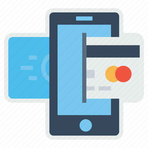 electronic, mobile, online, payment, secure, transaction icon