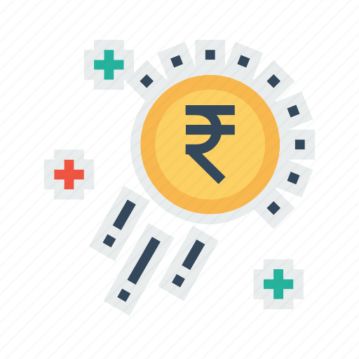 business, growth, money, raining, success, transaction icon