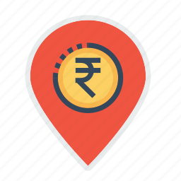 business, finance, location, marker, pin, place, placement icon