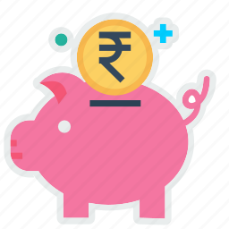 bank, budget, coin, money, pig, piggy, savings icon