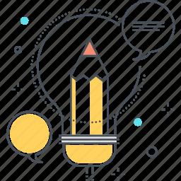ads, creative, idea, lamp, market, marketing, social icon