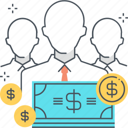 earnings, employee, money, monthly, pay, salary, wage icon
