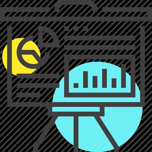 business, chart, data, finance, graph, presentation, statistics icon