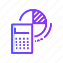 accounting, calculation, calculator, finance icon
