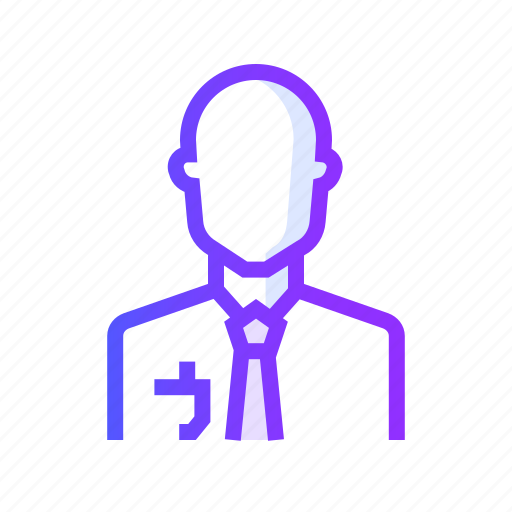 businessman, manager, person, profile, user icon