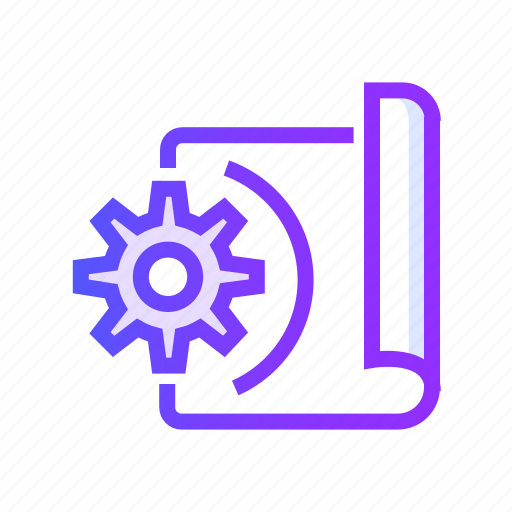 development, programming, project, protect, secure icon