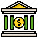 bank, finance, investment, money, saving icon