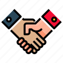 handshake, partnership, business, deal, shake