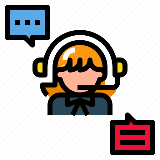 call, customer, headset, people, service icon