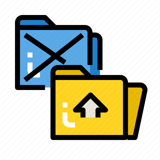 business, file, folder, open, paper icon