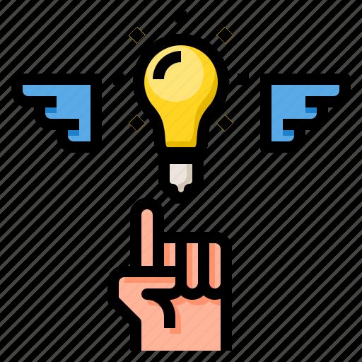 business, concept, creative, idea, innovation icon