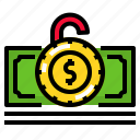 cash, currency, finance, money, saving icon