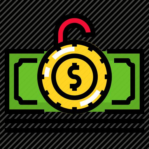 cash, currency, finance, money, saving icon