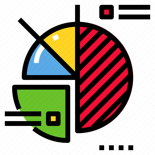 business, chart, diagram, pie, presentation icon