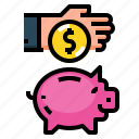 money, coin, investment, bank, piggy