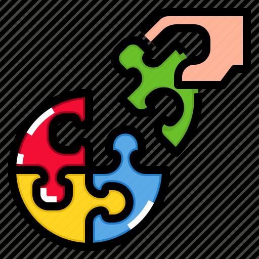 business, concept, idea, solution, team icon