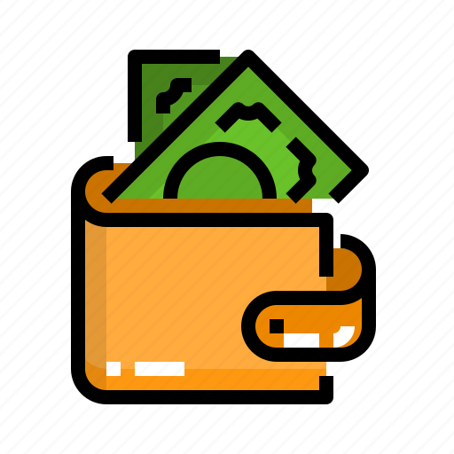 cash, dollar, finance, money, wallet icon