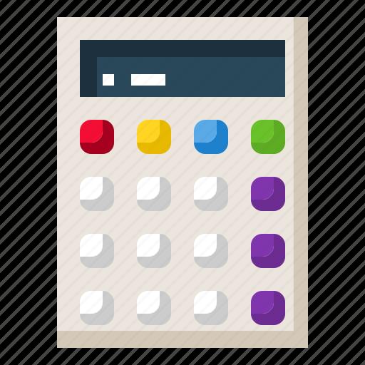 business, calculator, economy, finance, office icon