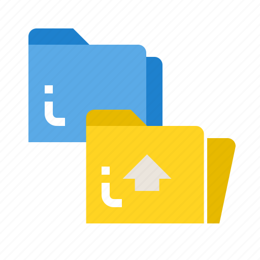 business, file, folder, open, paper icon