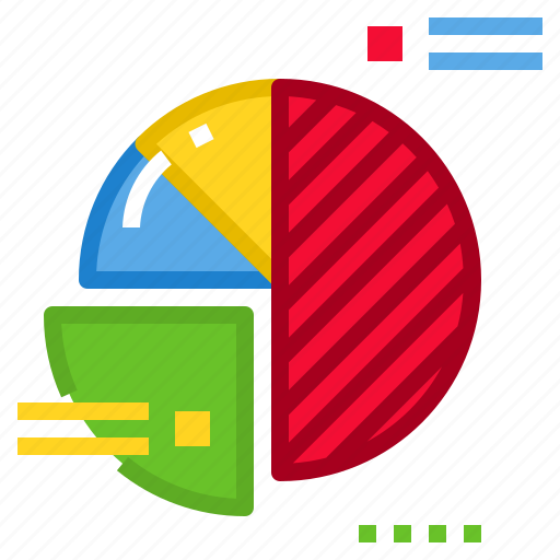 Diagram, presentation, chart, business, pie icon