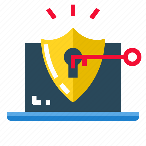 concept, data, protection, safety, security icon