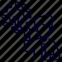 bukeicon, business, finance, idea, light, office, think icon