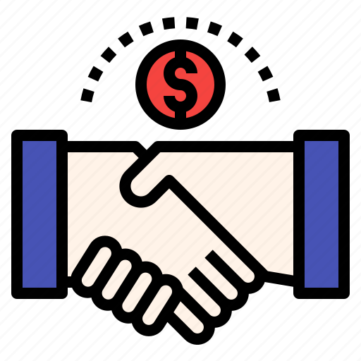 business, deal, investment, partners icon