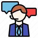 business, customer, global, service, support, translator icon
