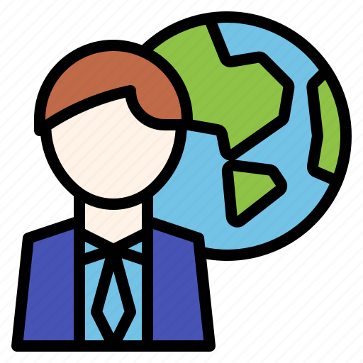 business, connection, global, worldwide icon
