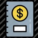 bill, book, business, education, finance, record, user