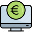 computer, currency, dollar, money, pay, digital, coin