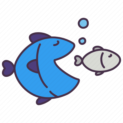 business, capitalism, corruption, eat, fish, investment, situation icon