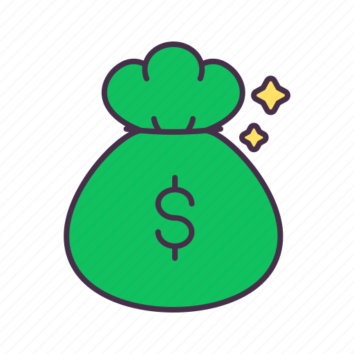 bag, business, finance, investment, loan, money, profit icon