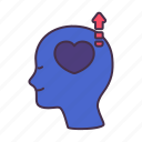 business, inspiration, love, mental, mind, motivation, passion icon