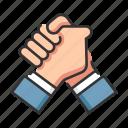 business, deal, handshake, team, teamwork icon