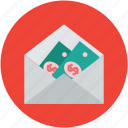 cash, envelope, money, paper cash, paper money icon
