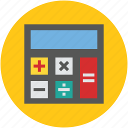 calculate, calculation, calculator, economy, finance icon