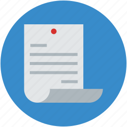 business, document, sheet, text, text document icon