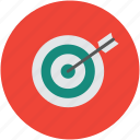 achievement, aim, dart, dartboard, goal, target icon