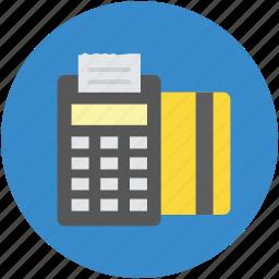 credit card, pos, swipe, swiping, terminal, transaction icon