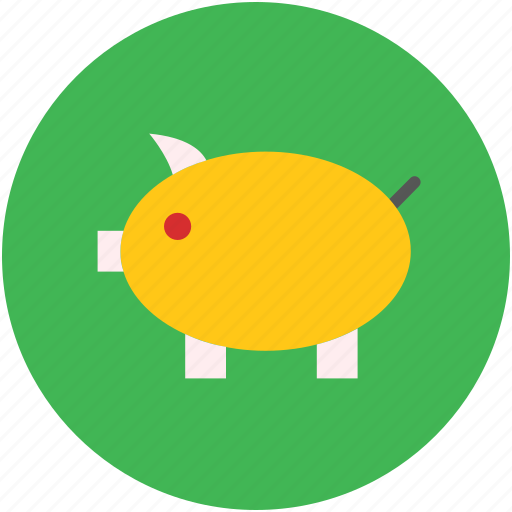 bank, concept, money box, object, pig, piggy, saving, sign icon