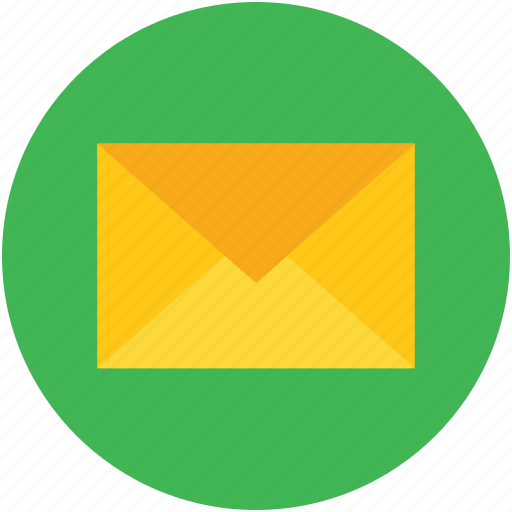 correspondence, envelope, mail, message, sign, symbol icon