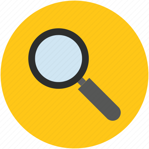 magnifier, magnifying glass, search, tool, view, zoom icon