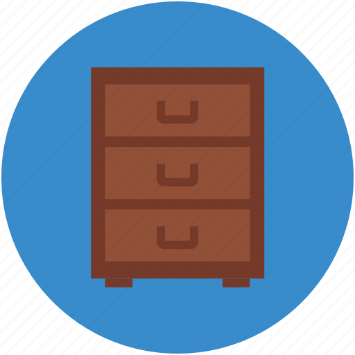 archive, chest drawers, drawers, furniture, storage icon