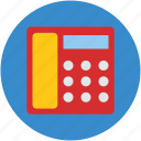 communicate, communication, dial, digital, office, telephone icon
