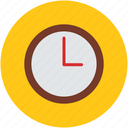 clock, hour, round, second, time, timer, watch icon